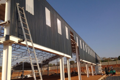 The Randburg Build It sheeting project