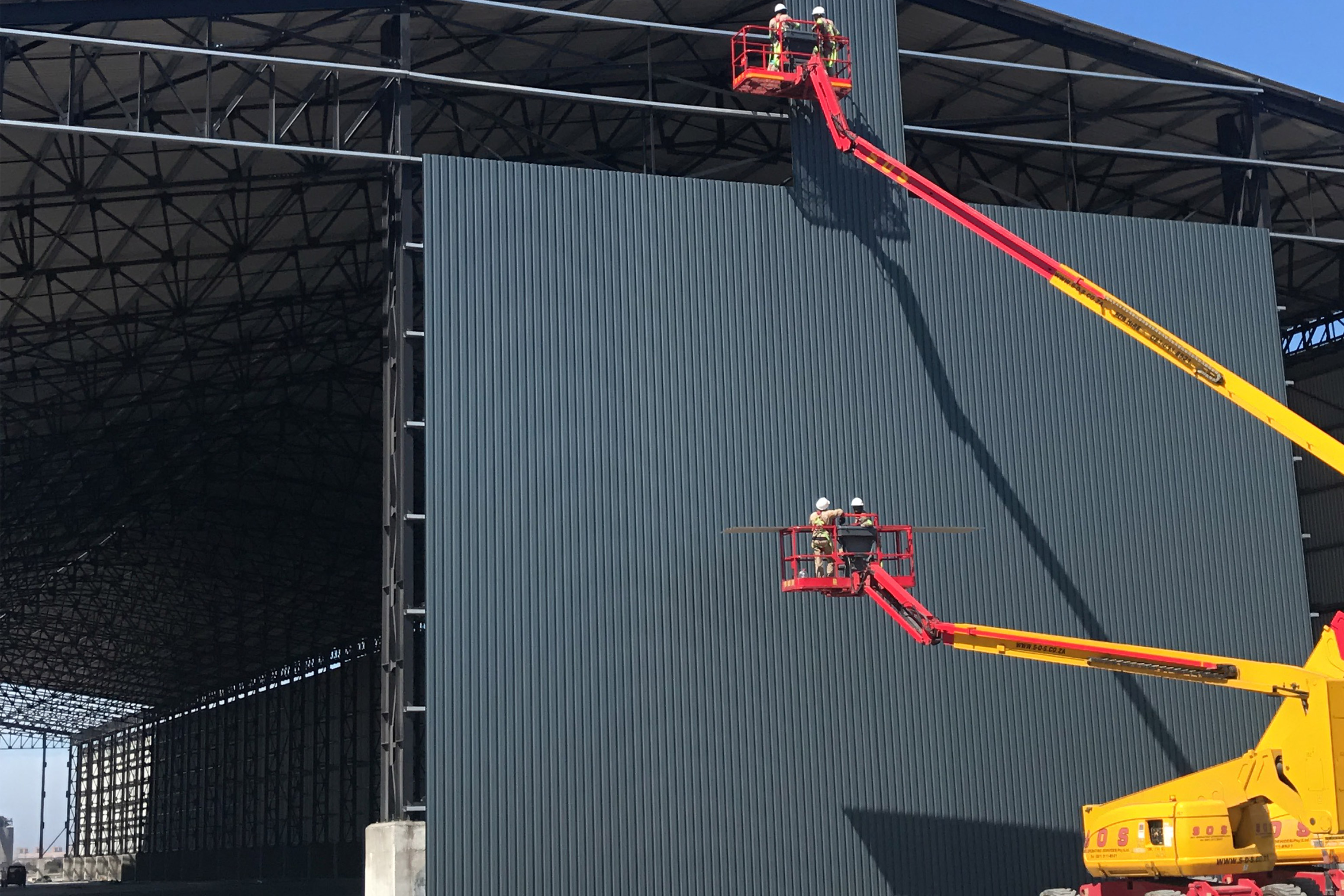 Sheeting service provided to Solethu Marine